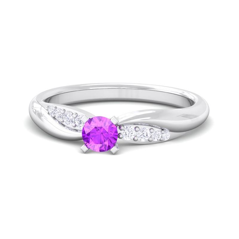 Purple-Amethyst-FG-SI-Dailywear-Single-Gem-Fine-Diamonds-Ring-18K-Gold