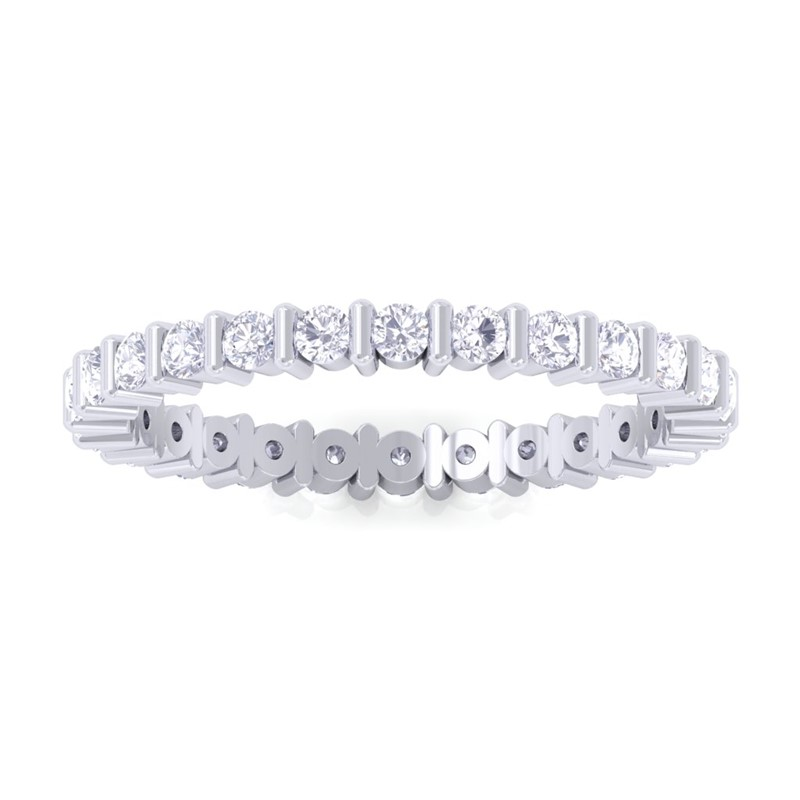 18k-White-Gold-Natural-Diamonds-Bar-Set-Full-Eternity-Band-Women-ASLAM