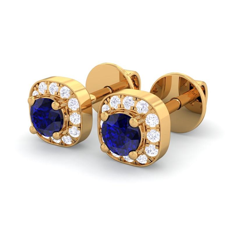 Unique Diamond Stud Earrings For Women