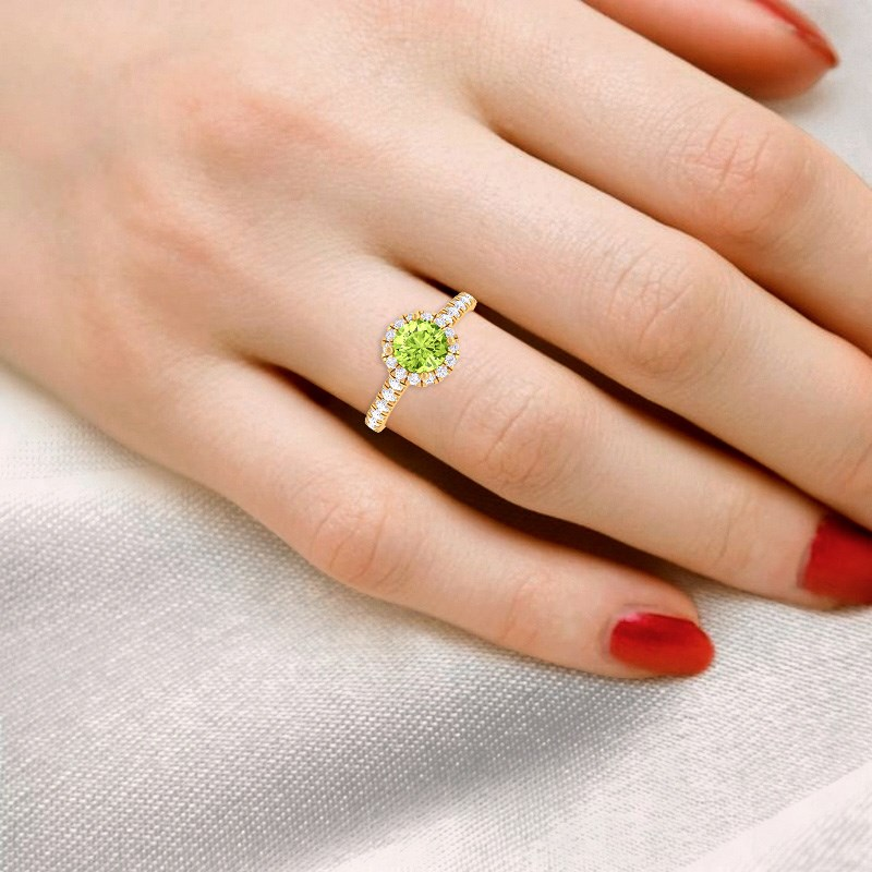 Green-Peridot-GH-VS-Diamond-Gemstone-Enagagement-Ring-Women-Yellow-Gold