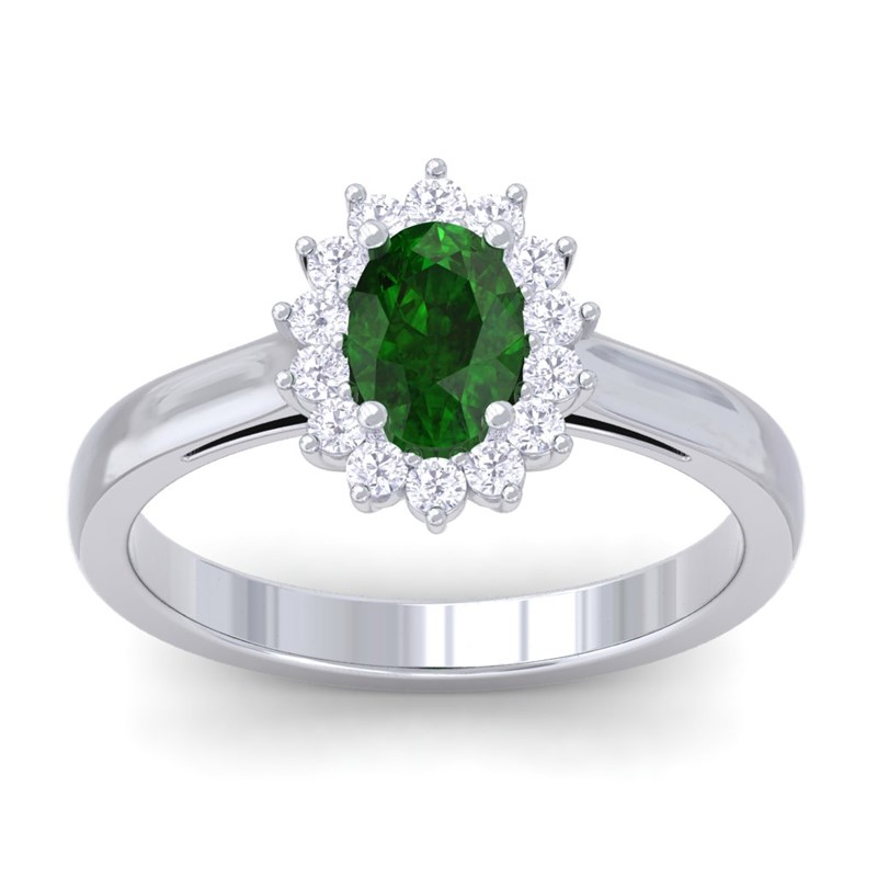 Green-Emerald-Diamond-Celebrity-Halo-Solitaire-Engagement-Ring-14K-White-Gold