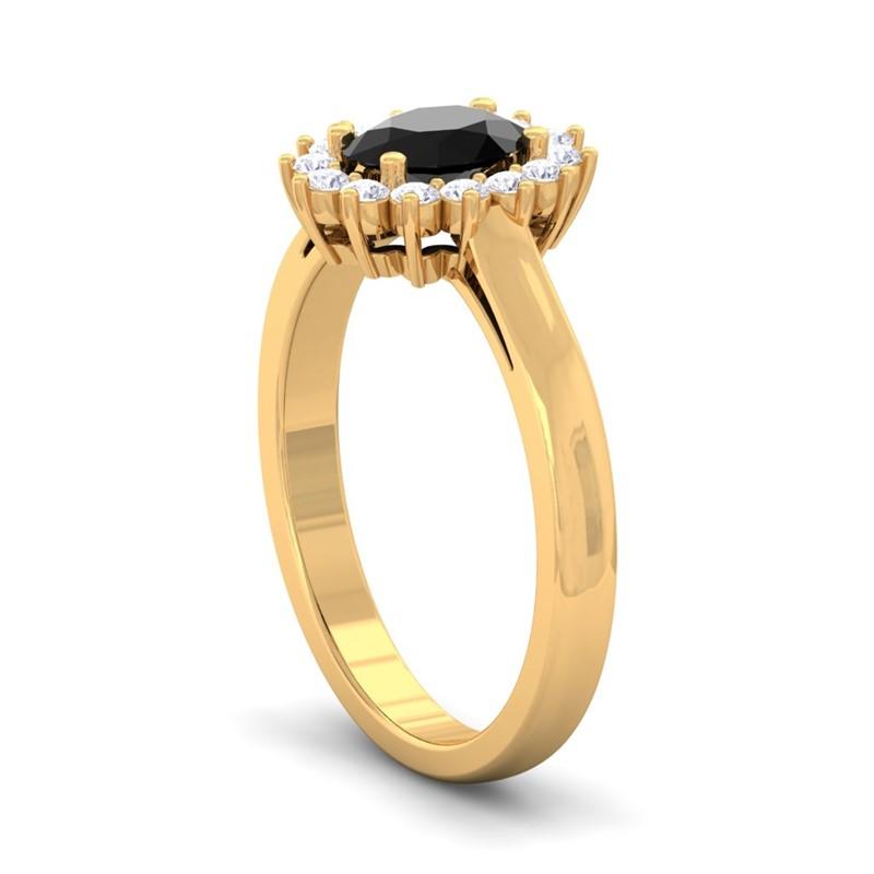 Black-Onyx-FG-SI-Diamond-Celebrity-Halo-Engagement-Ring-18K-Gold
