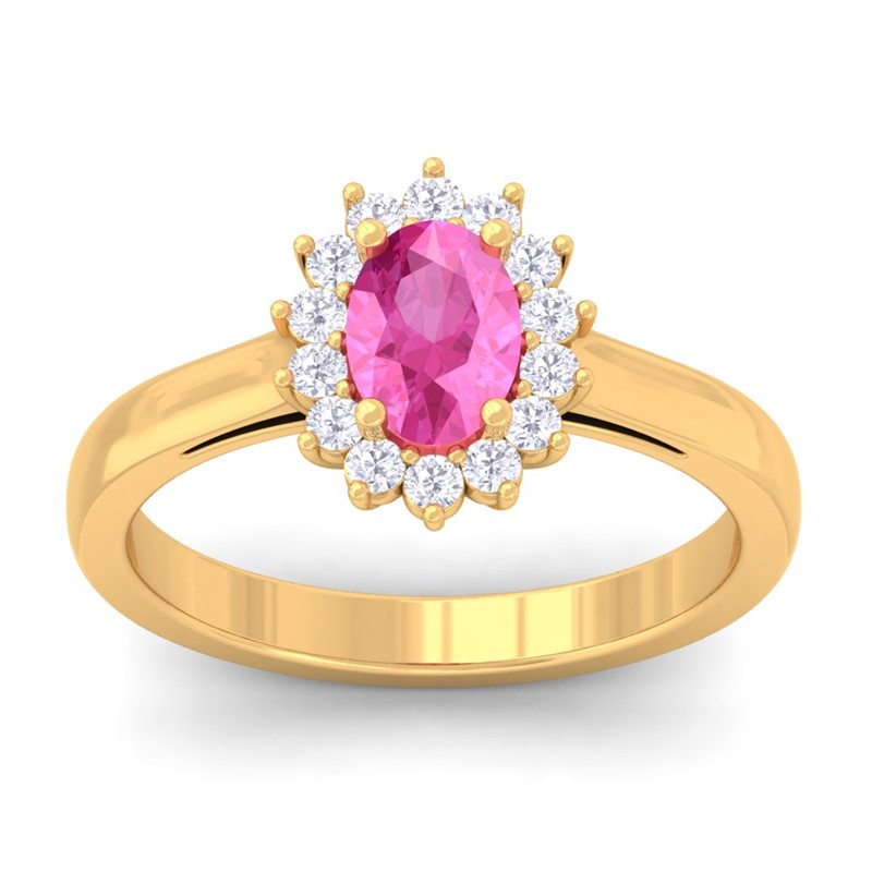 Pink-Sapphire-FG-SI-Diamond-Celebrity-Halo-Engagement-Ring-18K-Yellow-Gold