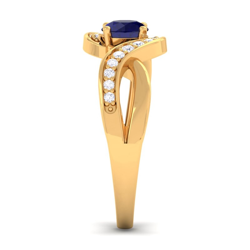 Blue-Sapphire-IJ-SI-Diamonds-Gem-Engagement-Ring-Women-Yellow-Gold