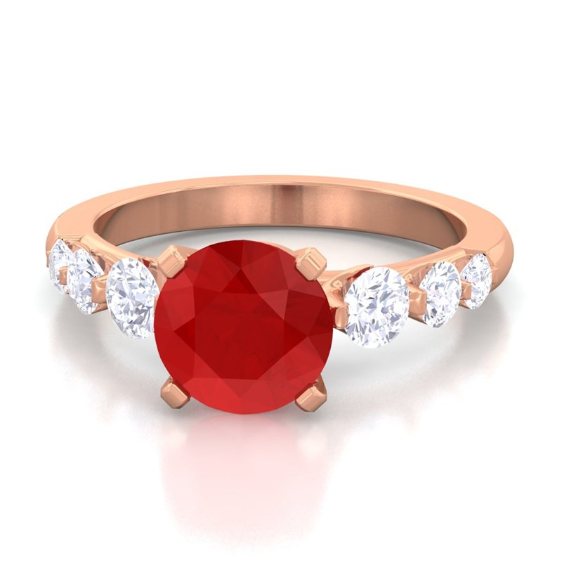 Red-Ruby-IJ-SI-Natural-Gemstone-Diamonds-Engagement-Ring-Rose-Gold