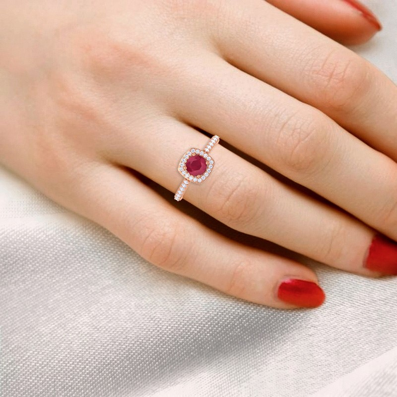 Red-Ruby-IJ-SI-Fine-Diamonds-Gemstone-Engagement-Ring-Solid-Gold-Certified