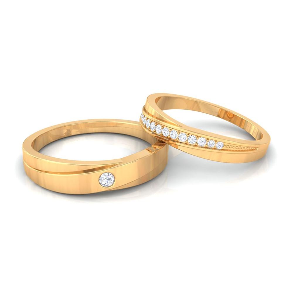 0 14ct fg si2 beautiful wedding bands 18k
