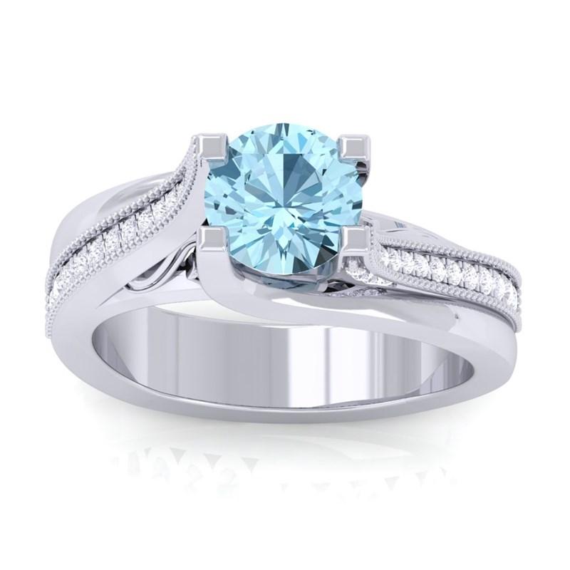 Blue-Topaz-IJ-SI-Gemstone-Diamonds-Engagement-Ring-Women-14K-White-Gold