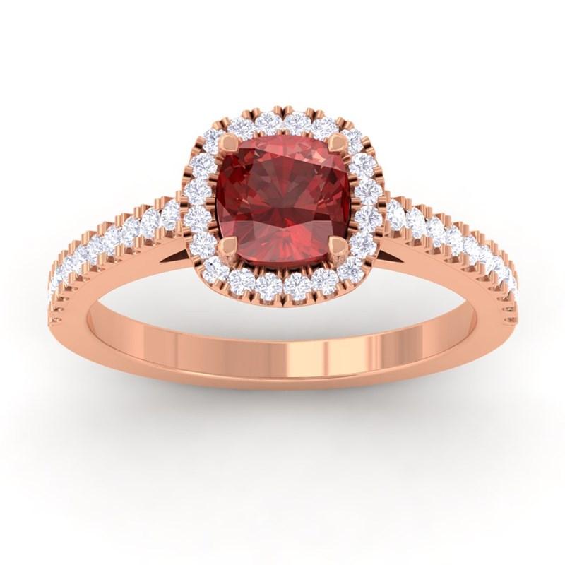 Red-Garnet-FG-SI-Diamonds-Halo-Gemstone-Engagement-Ring-14K-Rose-Gold