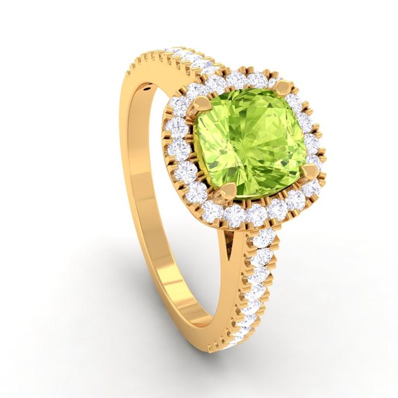 Green-Peridot-IJ-SI-Diamonds-Halo-Gemstone-Engagement-Ring-Yellow-Gold