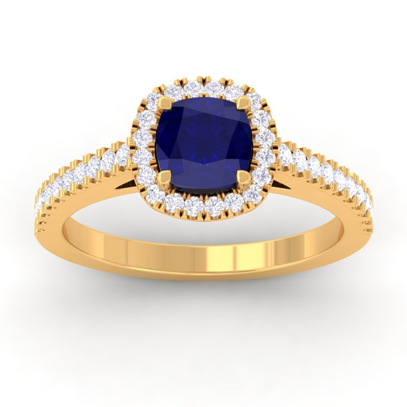 Blue-Sapphire-IJ-SI-Diamonds-Halo-Gemstone-Engagement-Ring-14K-Yellow-Gold