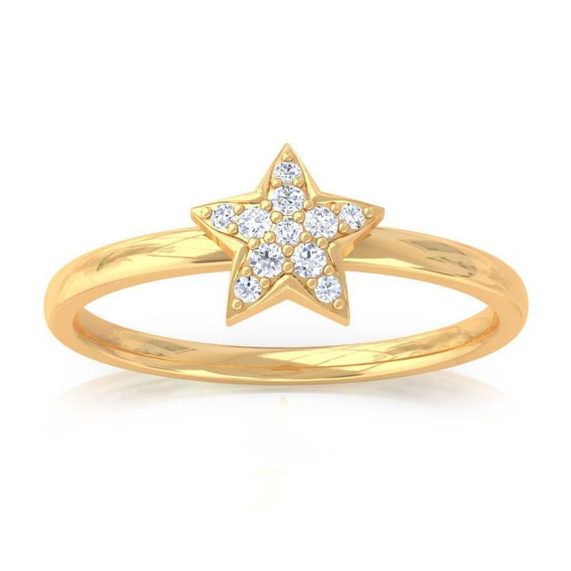 Diamond Ring In 18K gold